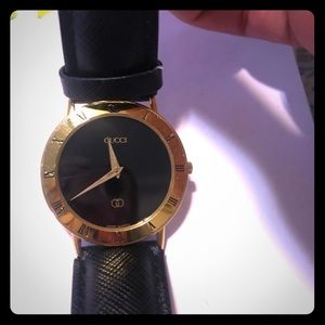 Gucci 3000M Gold Plated Vintage Watch